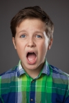 Preteen Boy Expressions - Shocked
